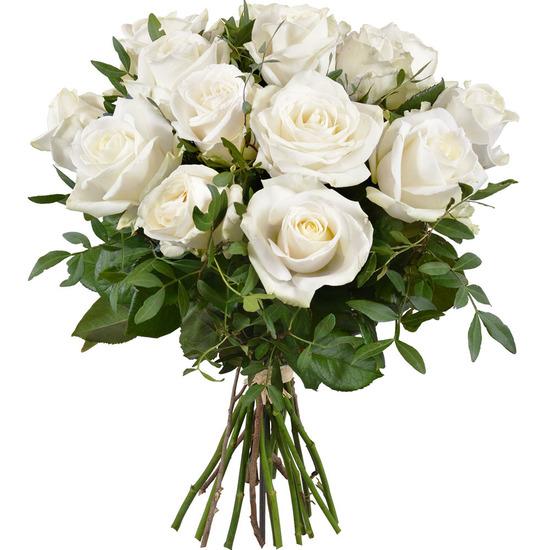 bouquet de roses blanches livraison de-roses blanches